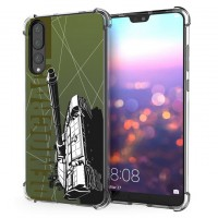 เคส Huawei P20 Pro War Series 3D Anti-Shock Protection TPU Case [WA001]