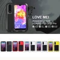 เคส Huawei P20 Pro Love Mei Powerful Metal Bumper [ปกป้องทั้งตัวเครื่อง]