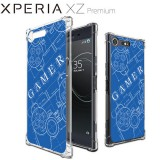 เคส SONY Xperia XZ Premium Anti-Shock Protection TPU Case [Gamer illustration Blue]
