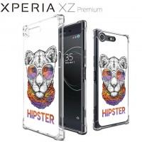 เคส Xperia XZ Premium Anti-Shock Protection TPU Case [HIPSTER]