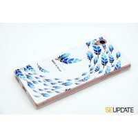 เคส SONY Xperia【SE-Update 】 3D Graphic TPU Case : Feather