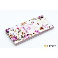 เคส SONY Xperia【SE-Update 】 3D Graphic TPU Case : You are beautiful
