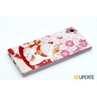 เคส SONY Xperia【SE-Update 】 3D Graphic TPU Case : Lucky Cat