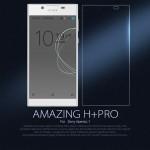 กระจกนิรภัยด้านหน้า Nillkin Amazing H+ Pro Tempered Glass สำหรับ Xperia L1 + แถมฟิล์มเลนส์