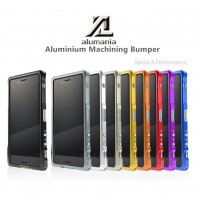 Alumania 【EDGE LINE-BUMPER】 for Xperia X Performance (สินค้าจากญี่ปุ่น)