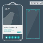 ฟิล์มกระจก ด้านหน้า GOR Tempered Glass for Xperia XA1 (Set 2 ชิ้น) + ฟิล์มเลนส์