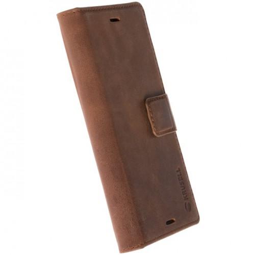 เคสหนังแท้ Xperia XA1 Krusell Sunne 5 Card FolioCase