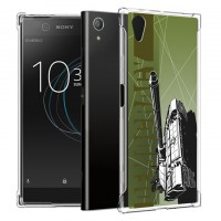 เคส SONY Xperia XA1 Plus War Series 3D Anti-Shock Protection TPU Case [WA001]