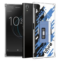 เคส SONY Xperia XA1 Plus Anti-Shock Protection TPU Case [Back to the Future]