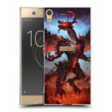 เคส Xperia XA1 Plus Dragon Series Slim Back Cover [DG003]
