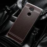 เคส SONY Xperia XA2 Ultra Leather Skin TPU Softcase