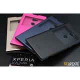 เคสหนัง Xperia XA2 Ultra Luxury Ultra Thin View Window Flip Leather Case