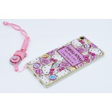เคส SONY Xperia Hello Kitty TPU Case with lanyard