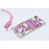 เคส Xperia Hello Kitty TPU Case with lanyard