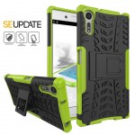 เคส SONY Xperia XZ【SE-Update 】Shockproof Case : สีเขียว