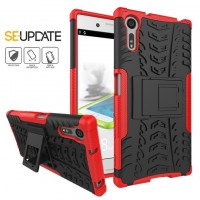 เคส SONY Xperia XZ【SE-Update 】Shockproof Case : สีแดง