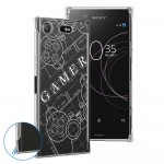 เคส Xperia XZ1 Anti-Shock Protection TPU Case [Gamer illustration]