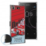 เคส Xperia XZ1 Anti-Shock Protection TPU Case [Racing Team]
