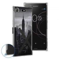 เคส SONY Xperia XZ1 See-Through Series Anti-Shock Protection TPU Case [ST001]