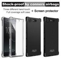 เคส SONY Xperia XZ1 Compact Imak Shock-resistant Case + แถมฟิล์ม