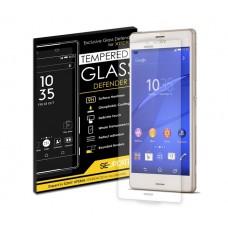 ฟิล์มกระจก 【SE-Update 】Tempered Glass Defender สำหรับ Xperia Z3