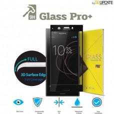 กระจกนิรภัย แบบเต็มจอลงโค้ง GLASS PRO+ 3D Tempered Glass สำหรับ Xperia XZ1 Compact