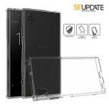 เคส Xperia XA1 Plus【SE-Update 】FUSION Hybrid Case : สีใส Crystal View