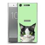 เคส Xperia XZ1 Kitten Series Slim Back Cover [KT001]