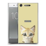 เคส Xperia XZ1 Kitten Series Slim Back Cover [KT004]