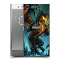 เคส SONY Xperia XZ1 Dragon Series Slim Back Cover [DRG002]