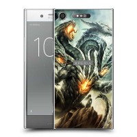 เคส SONY Xperia XZ1 Dragon Series Slim Back Cover [DRG001]