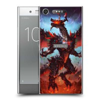เคส SONY Xperia XZ1 Dragon Series Slim Back Cover [DRG003]