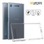 เคส Xperia XZ1【SE-Update 】FUSION Hybrid Case : สีใส Crystal View