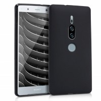 เคส SONY Xperia XZ2 Premium Matte Alpha Protection TPU Case : Black
