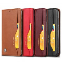 เคสหนัง Xperia XZ2 Premium Card Set Leather Flip Stand Case
