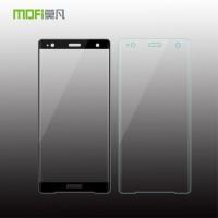 ฟิล์มกระจก  แบบเต็มจอลงโค้ง MOFI 3D Tempered Glass สำหรับ Xperia XZ2 Premium