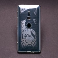 เคส SONY Xperia XZ2 Moxbii TPU Case Designer Collection : Howling Frost