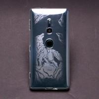 เคส Xperia XZ2 Moxbii TPU Case Designer Collection : Howling Frost