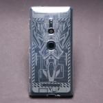 เคส SONY Xperia XZ2 Moxbii TPU Case Designer Collection : Laser Aquila