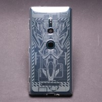 เคส SONY Xperia XZ2 Moxbii TPU Case Designer Collection : Laser Aquila