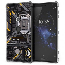 เคส Xperia XZ2 Anti-Shock Protection TPU Case [Gaming Board]