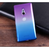 เคส SONY Xperia XZ2 Gradient Two-tone Slim TPU (Purple-Blue)