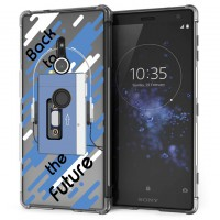 เคส SONY Xperia XZ2 Anti-Shock Protection TPU Case [Back to the Future]