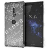 เคส Xperia XZ2 Anti-Shock Protection TPU Case [Gamer illustration]