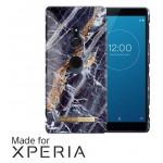 เคส Xperia XZ2 iDEAL OF SWEDEN Fashion Case - MIDNIGHT BLUE MARBLE [เร็วๆนี้]