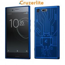 เคส SONY Xperia XZ Premium Cruzerlite Bugdroid Circuit : Blue