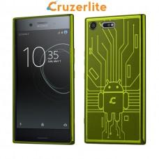 เคส Xperia XZ Premium Cruzerlite Bugdroid Circuit : Green