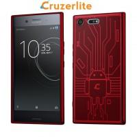 เคส SONY Xperia XZ Premium Cruzerlite Bugdroid Circuit : Red