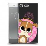 เคส SONY Xperia XZ Premium HeadCase Back Cover : Dog