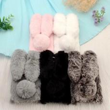 เคสกระต่าย หูยาวขนปุย Xperia XZ Premium Rabbit Fur Case